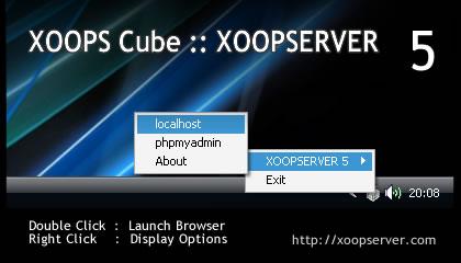 XOOPSERVER 5 Portable WAMP